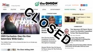 Onion CLosed
