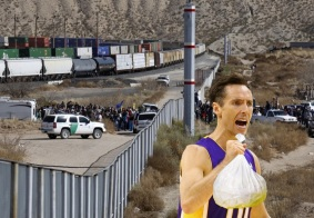 Steve Nash Injured Carrying Bags of Cocaine Across US-Mexico Border